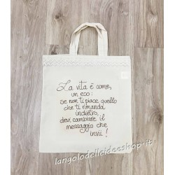 "BORSA SHOPPER ""VITA/ECO"""