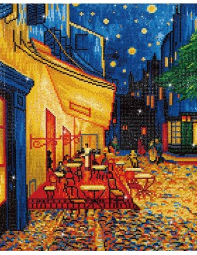 CAFE' AT NIGHT VAN GOGH
