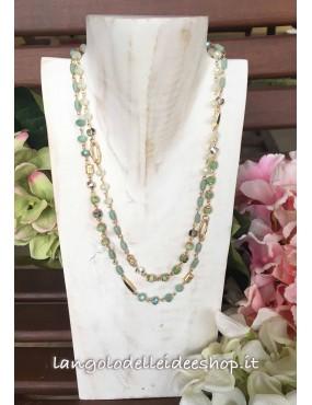 Collana delicata verde