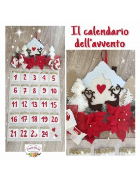 CARTAMODELLO CALENDARIO AVVENTO
