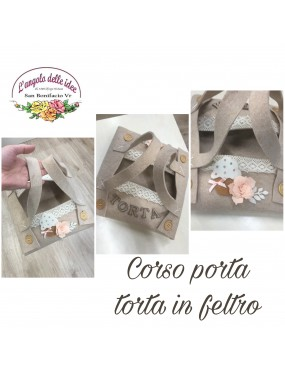 KIT CORSO PORTA TORTA IN...