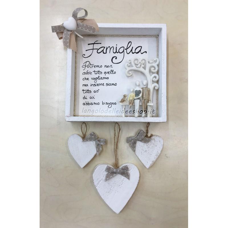 Frasi Sulla Famiglia.La Piu Bella Frase Sulla Famiglia Quadretto Personalizzato